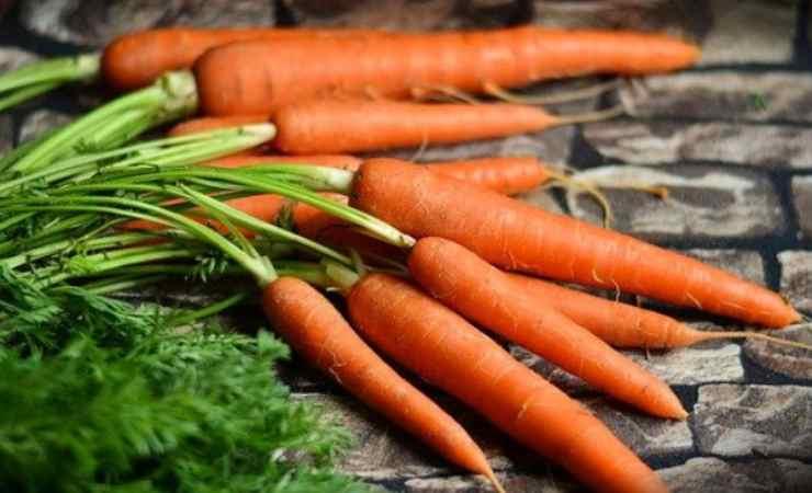 carote bollite appetitose