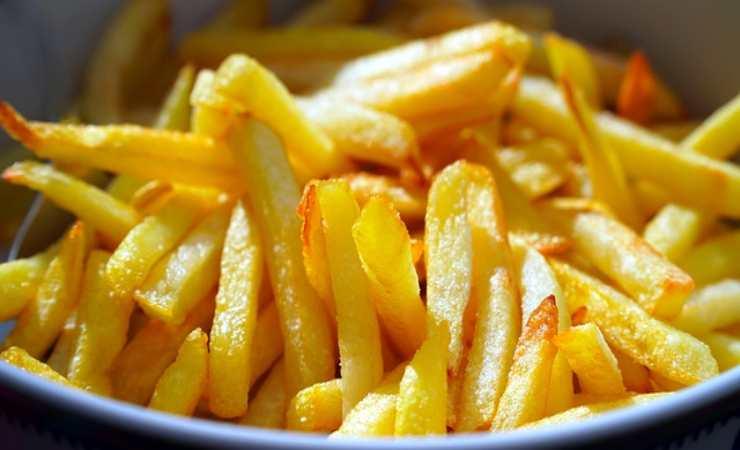 Patate fritte perfette trucco