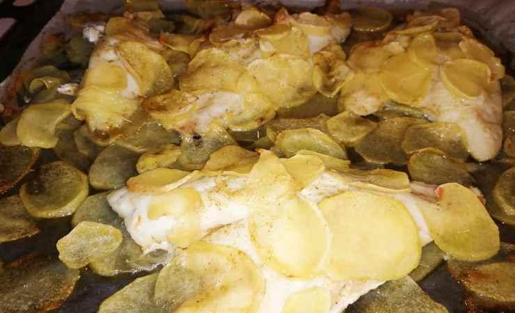 Orata e patate forno