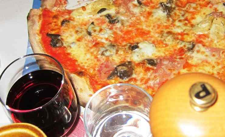 Quale vino abbinare pizza