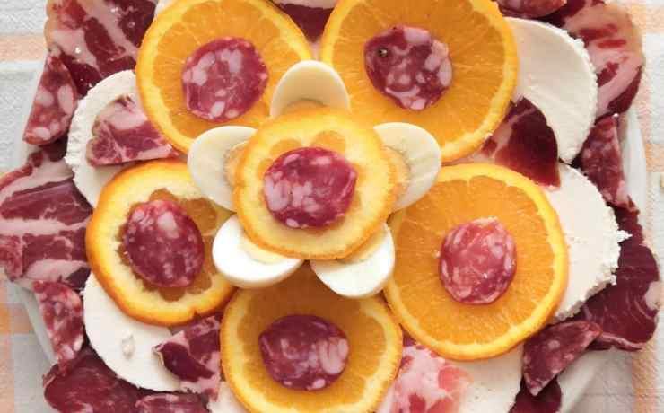 Antipasto salumi formaggi