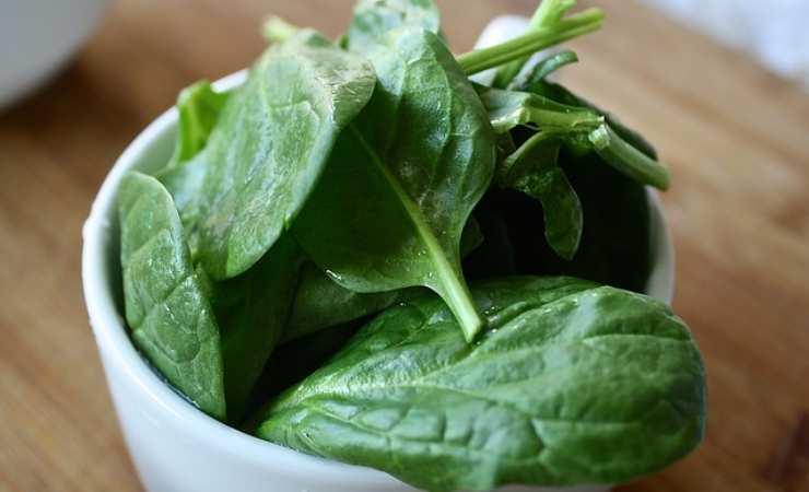 Pasta lenticchie spinaci
