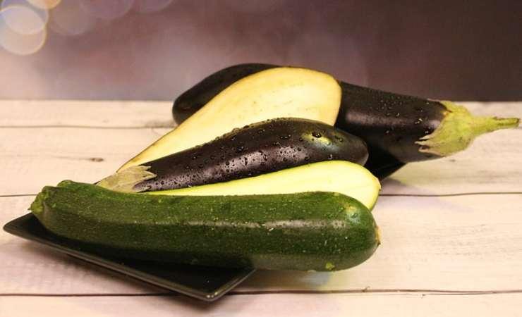 Zucchine ripiene senza carne