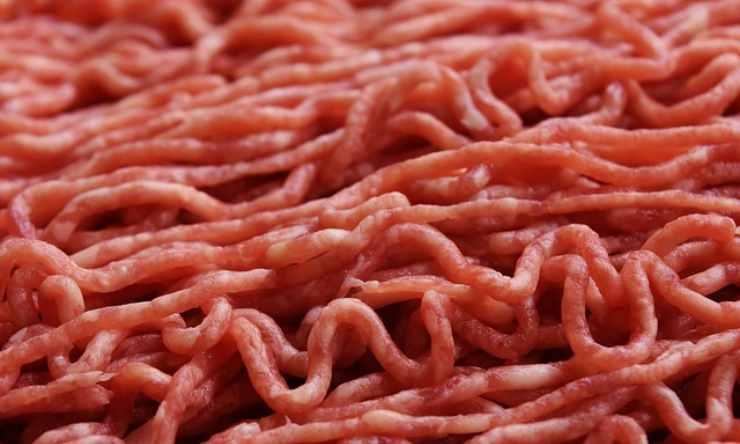 scongelare la carne macinata