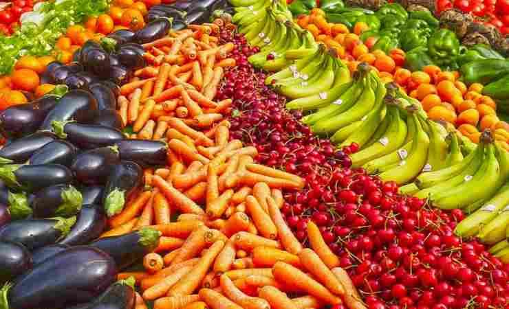 Disinfettare frutta verdura