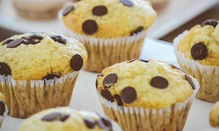 Muffin arancia gocce cioccolata