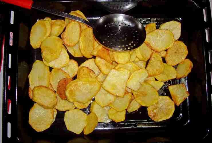 patate fritte ma al forno