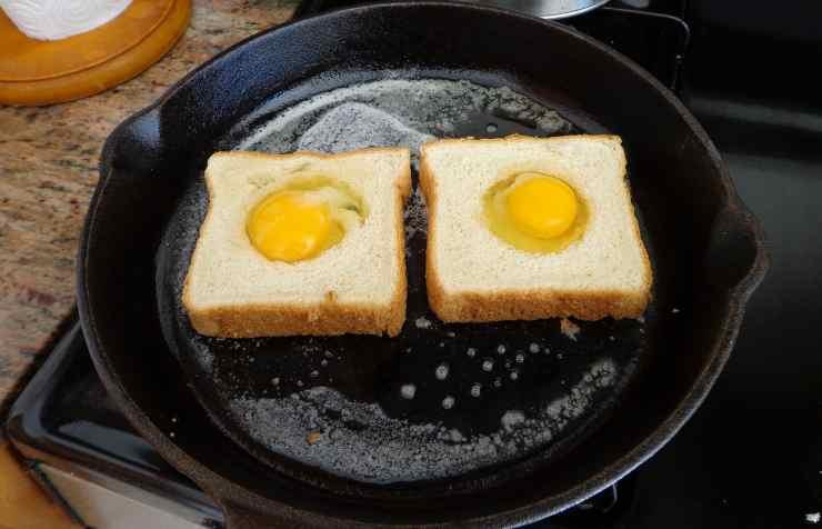 uovo all'occhio di bue