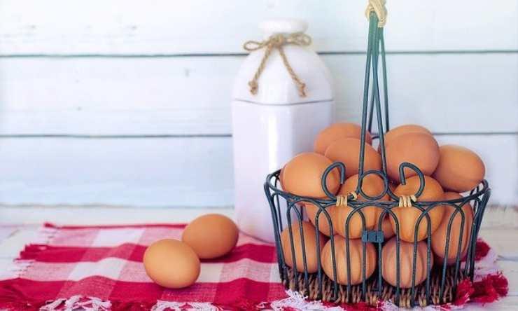 uova sode conservare