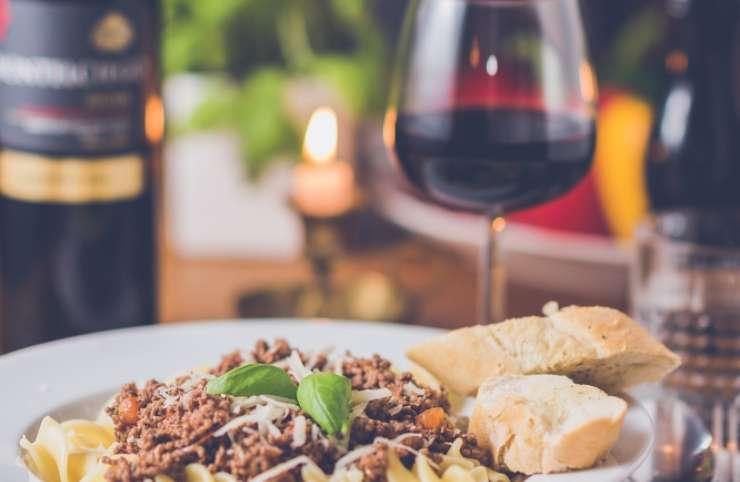 primi piatti vino