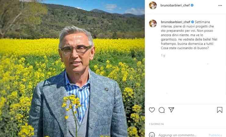 Bruno Barbieri annuncio