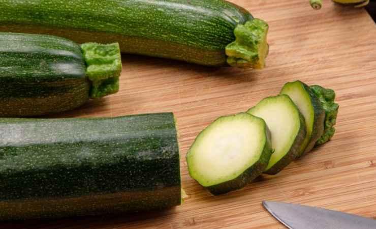 Zucchine scapece light