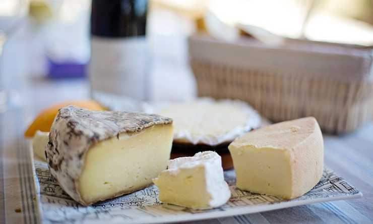 formaggio seccato rimediare