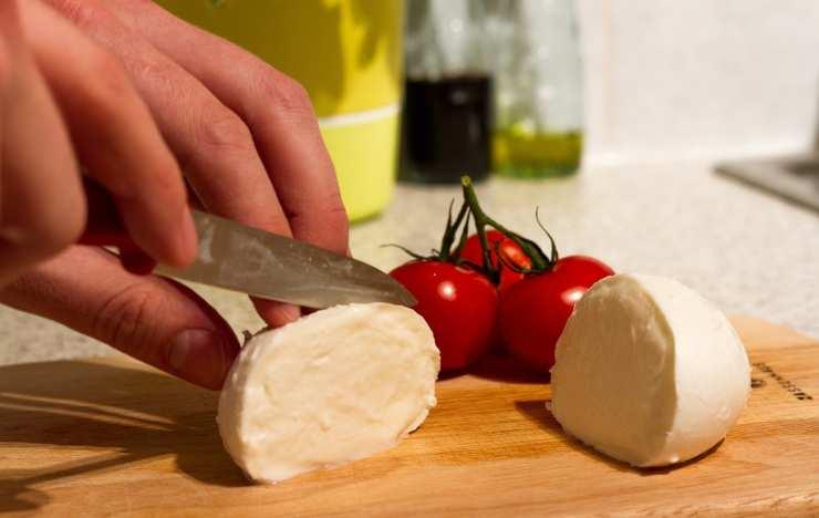 conservare la mozzarella