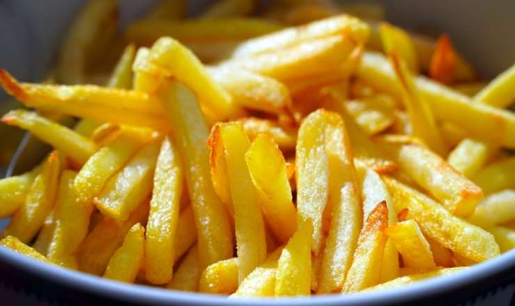 patate fritte metodo