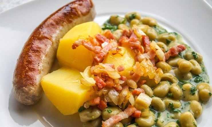 salsicce patate ricetta
