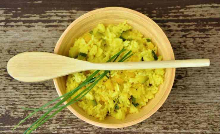 Non semplice risotto zucchine