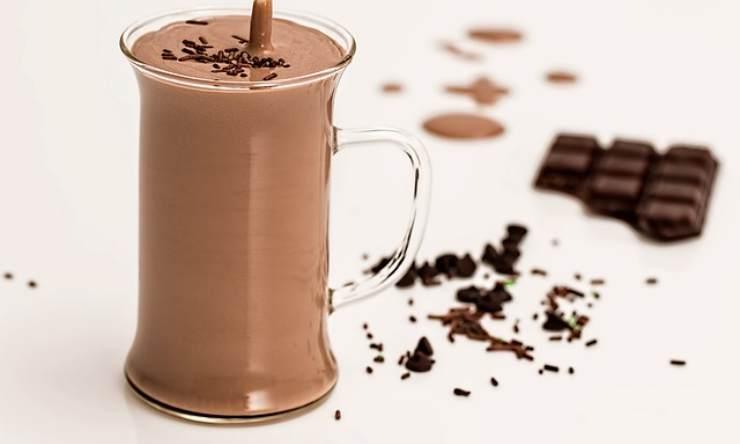 Cioccolata fredda 4 ingredienti