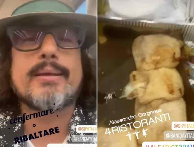 Alessandro Borghese imperdibile