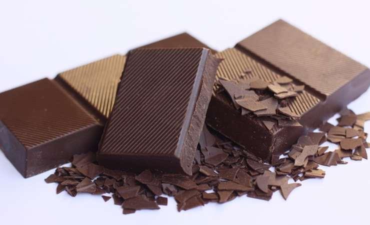 cioccolato calorie