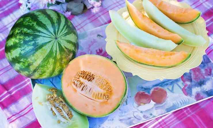 melone kiwi miele limone