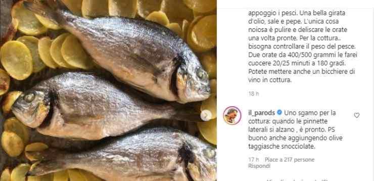 orata Benedetta Parodi