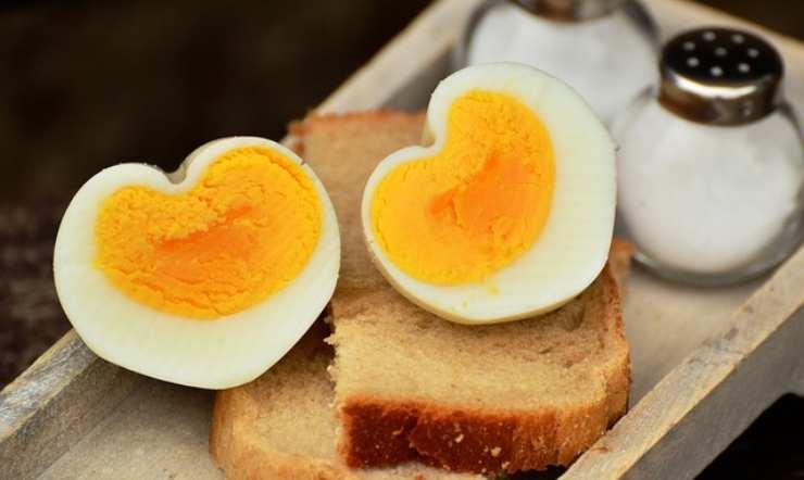 uova sode cinque minuti