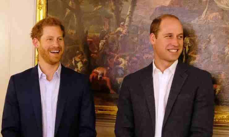 Harry William Diana ricordo