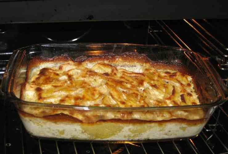 patate, formaggio e cipolla