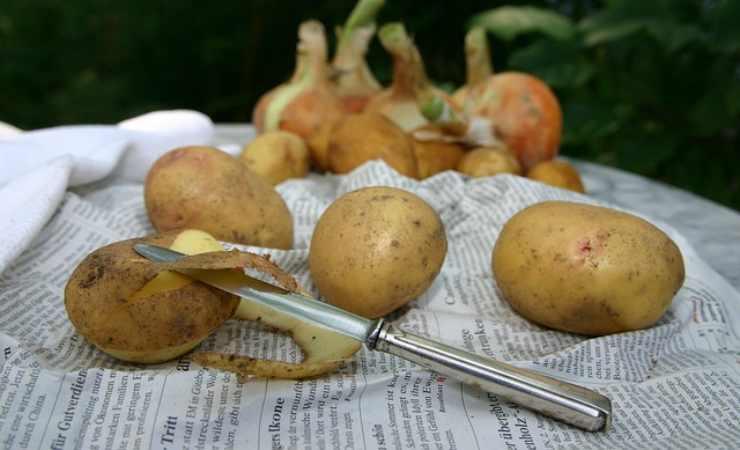 Trucco patate forno