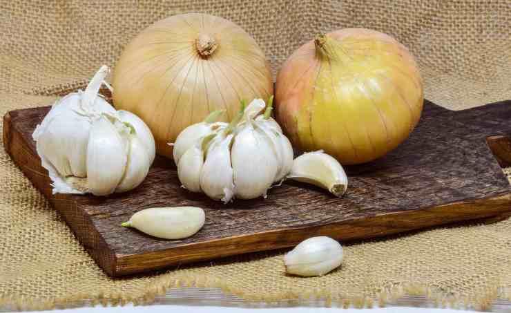 conservare aglio e cipolla