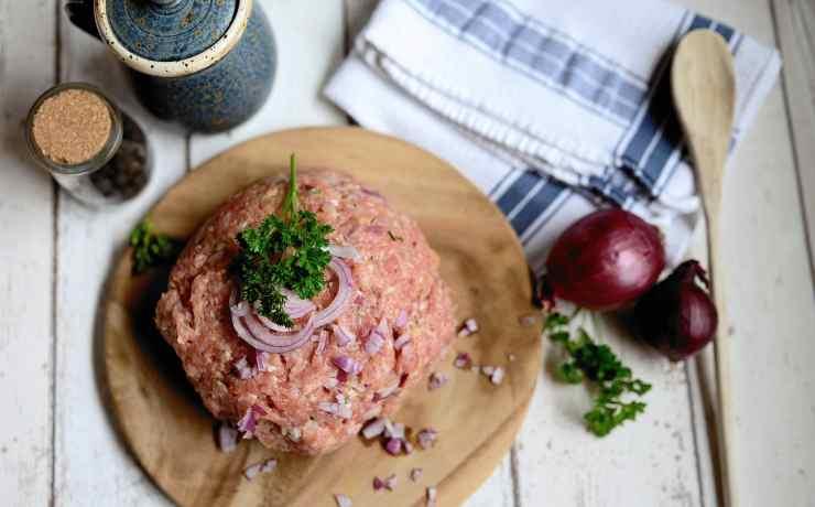 carne macinata piatto