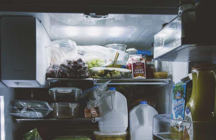 scongelare cibo