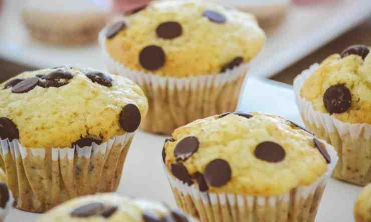 muffin sgonfiano forno