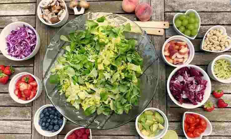frutta verdura disinfettare