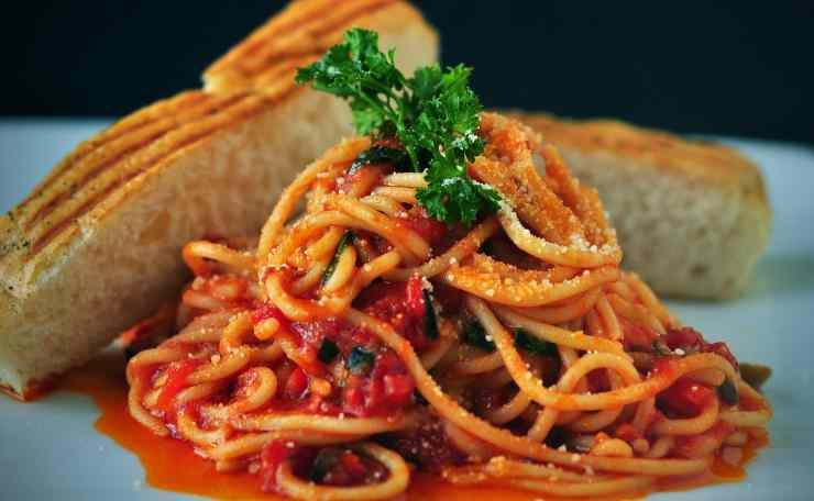 spaghetti 'sciuè sciuè'