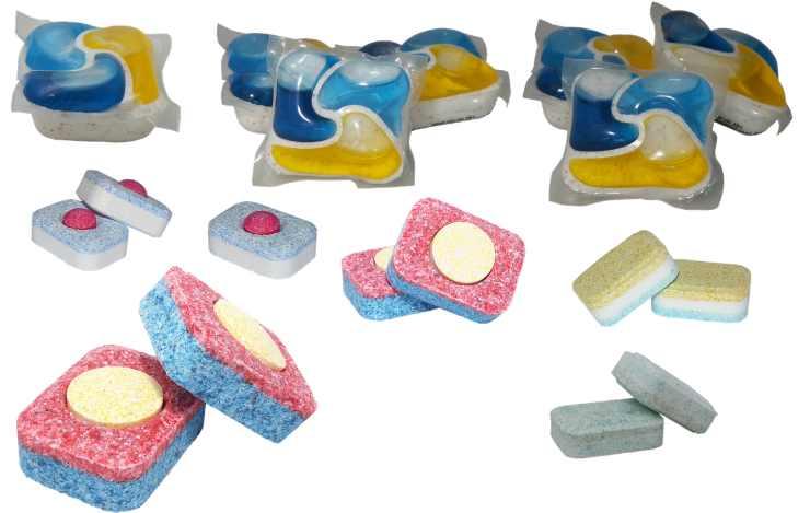 pastiglie della lavastoviglie