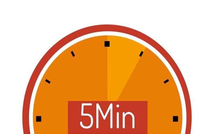 piatto 5 minuti