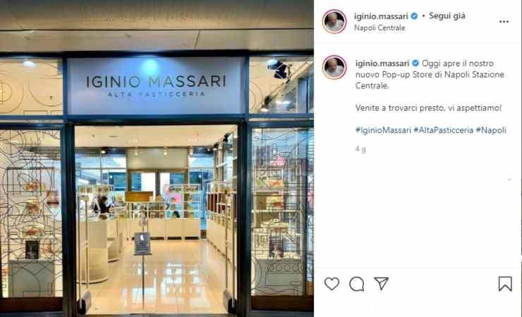 Iginio Massari punto vendita