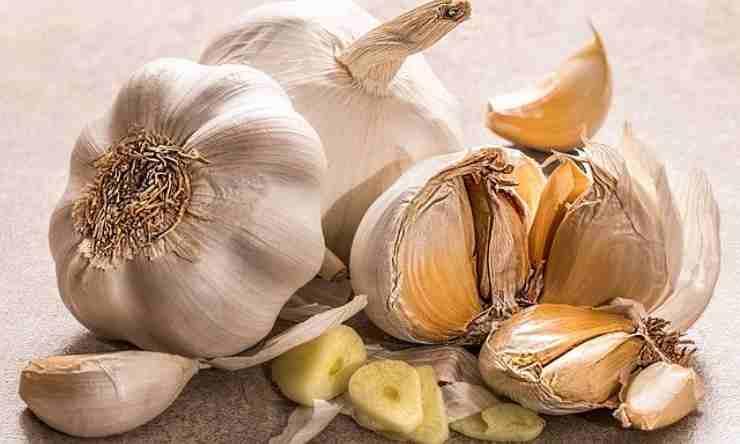 sale aglio rimedio