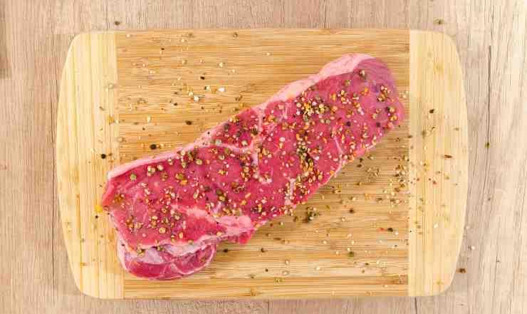 sale sulla carne