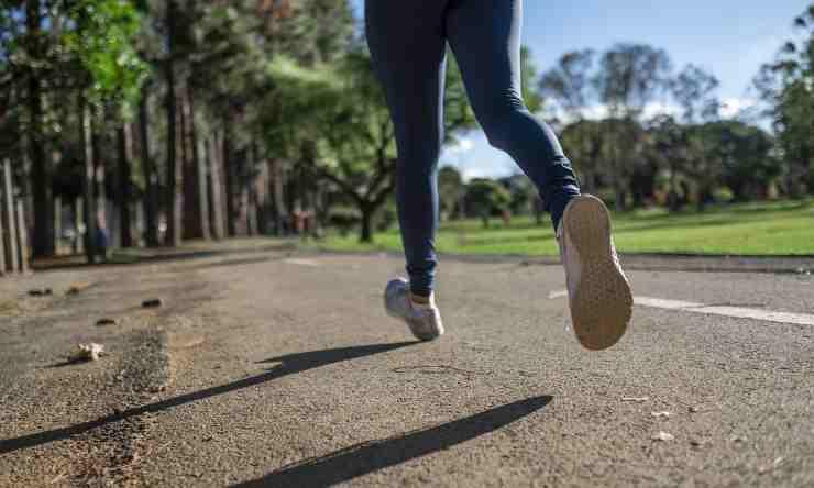correre perdere peso