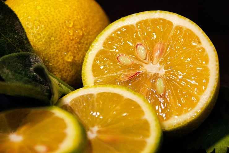 limone nel freezer